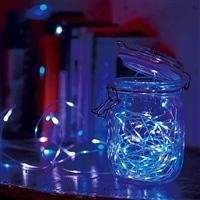 LEDフェアリーライト 30球 ホワイトブルー