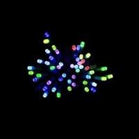 LEDストレートライト 100球  レインボー