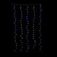 LEDカーテンライト W100×H180cm レインボー
