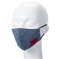 【数量限定・国内製造】EDWマスク 大人用 (小さめ)シャンブレーブルー