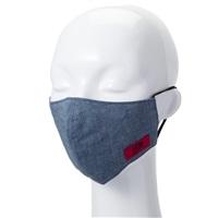 【数量限定・国内製造】EDWマスク 大人用 シャンブレーブルー