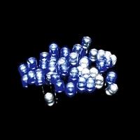 【数量限定】LEDストレートライト 100球ホワイト/ブルー球 グリーンコード