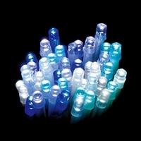 LEDストレートライト 100球 ブルーグラデーション球 クリアコード