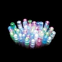 【数量限定】LEDストレートライト 100球 パステルミックス球 クリアコード