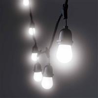 【数量限定】LEDストリングライトバルブ 10P ホワイト球
