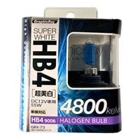 【店舗限定】アークス GRX-73 スーパーホワイト HB4ハロゲンバルブ 4800K(GRX-73)