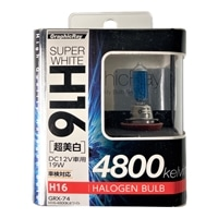 【店舗限定】アークス GRX-74 スーパーホワイト H16ハロゲンバルブ 4800K(GRX-74)