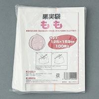 果実袋 桃用 桃白撥水9切 100P