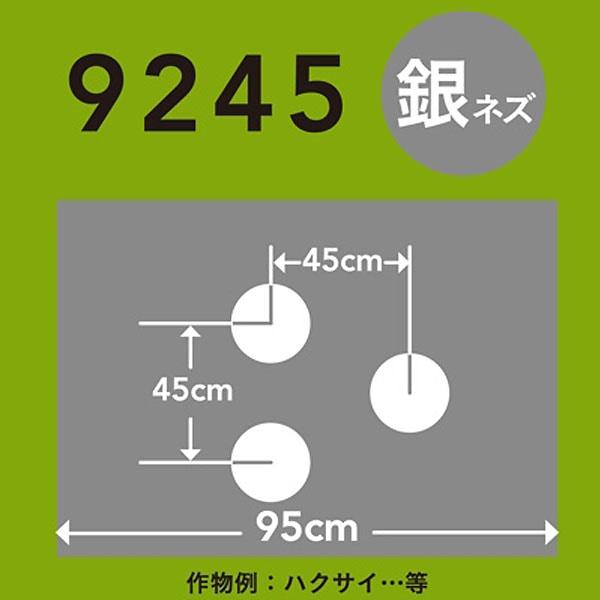 ホールマルチ 銀ネズ 9245×200m 60φ