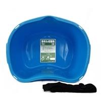 散布&収穫桶 18型ブルー