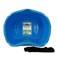 【数量限定】散布&収穫桶 18型ブルー