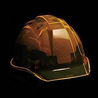 DICヘルメット キラメットSYP ライナー有 蛍光オレンジ
