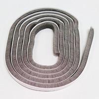 槌屋モヘヤすき間テープグレー 9×9mm×2m