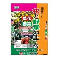 【店舗取り置き限定】元肥入花と野菜の土14L(北海道限定)