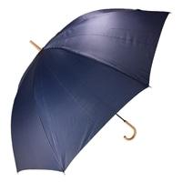 【店舗取り置き限定】紳士手開き傘 80cm ネイビー