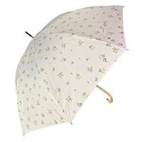 オールシーズン対応長傘 フルーレット 58cm 白