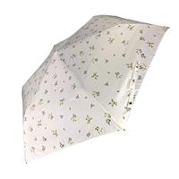 オールシーズン対応折傘 フルーレット 50cm 白