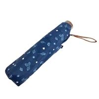 婦人折りたたみ傘 フォレスト柄 50cm