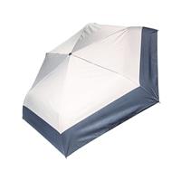 晴雨兼用自動開閉折り傘55cm グレー