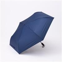 晴雨兼用自動開閉折り傘55cm ネイビー