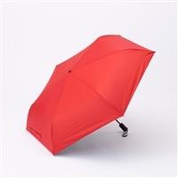 晴雨兼用自動開閉折り傘55cm レッド