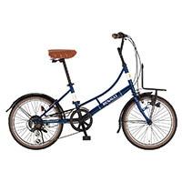 【自転車】【全国配送】《ルノー》ミニベロ・小径車 206L Classic-N ブルー【別送品】
