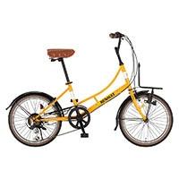 【自転車】【全国配送】《ルノー》ミニベロ・小径車 206L Classic-N オレンジ【別送品】