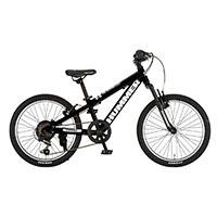 【自転車】【全国配送】《ハマー》ジュニアマウンテンバイク 206-SV ブラック【別送品】