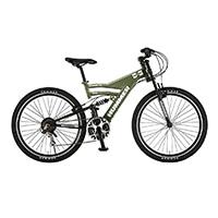【自転車】《ハマー》ATB HUMMER DH2618-E 26インチ アルミWサス 18ギアDH-E GN グリーン
