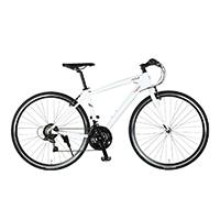 【自転車】《ジック》マセラティ MASERATI AL-CRB7021 urban 700型 クロスバイク 外装21段 マセラティホワイト