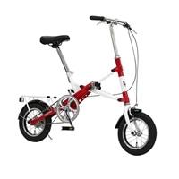 【数量限定・自転車】《ジック》折り畳み車 モバイリーワン MOBILLY ONE 12インチ レッド