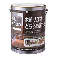 ALL WOOD アッシュグレー 3L【別送品】