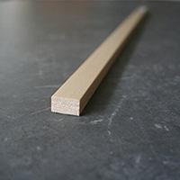 【SU】雑巾摺り(樹脂)木目 2000×9×12【別送品】