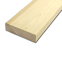 【加工可】岡元木材 特選 ツーバイ材 2x6 3F (約)38×140×910mm【別送品】【要注文コメント】