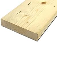 【加工可】岡元木材 特選 ツーバイ材 2x8 6F (約)38×184×1830mm【別送品】【要注文コメント】