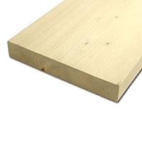 【加工可】岡元木材 特選 ツーバイ材 2x10 6F (約)38×235×1830mm【別送品】【要注文コメント】