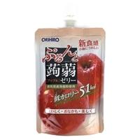 オリヒロ ぷるんと蒟蒻ゼリー スタンディング アップル 130g