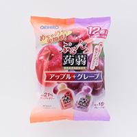 オリヒロ ぷるんと蒟蒻ゼリー アップルグレープ 12粒