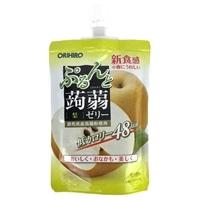 オリヒロ ぷるんと蒟蒻ゼリー 梨 130g