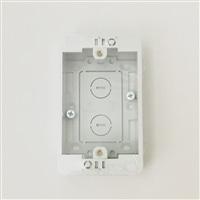 未来スイッチBOX1コ用MSB−F1W 壁白
