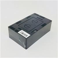 モール用スイッチボックス1連 黒 MSB-1K