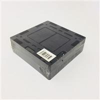 モール用スイッチボックス2連 黒 MSB-2K