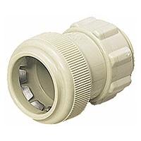 【店舗限定】未来工業 PF管コネクター28ベージュFPK-28Y