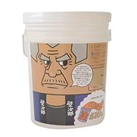 【送料無料】ひとりで塗れるもん 頑固ブラウン 22kg【別送品】