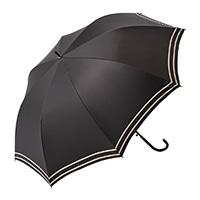 晴雨兼用長傘 55cm ブラック