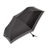晴雨兼用折り 傘55cm ブラック