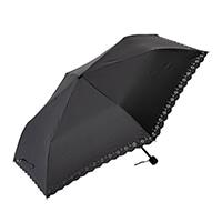 晴雨兼用折り傘 60cm ブラック
