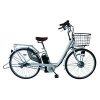 【数量限定】【自転車】【全国配送】≪カイホウ≫電動アシストSUISUI BM-P10 26インチ ホワイト【別送品】