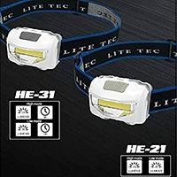 長期LITE TECLEDヘッドライト充電式 3W HE-31