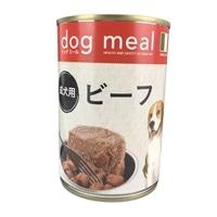 Pet'sOne ドッグミール缶 ビーフ 成犬用 400g